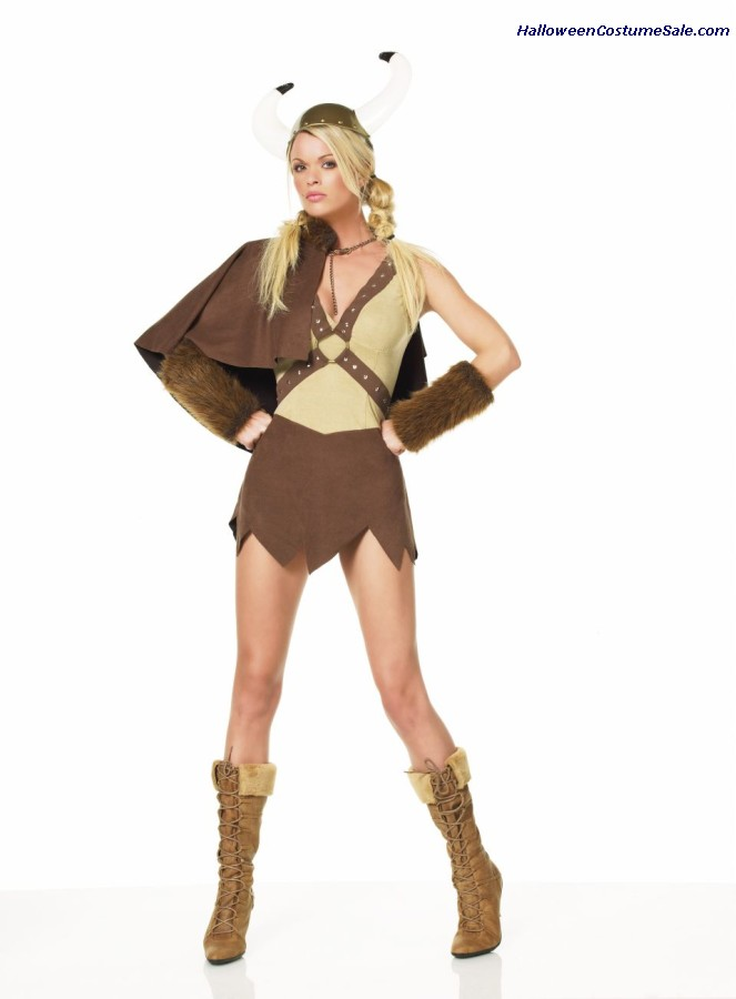 SEXY VIKING DRESS SET