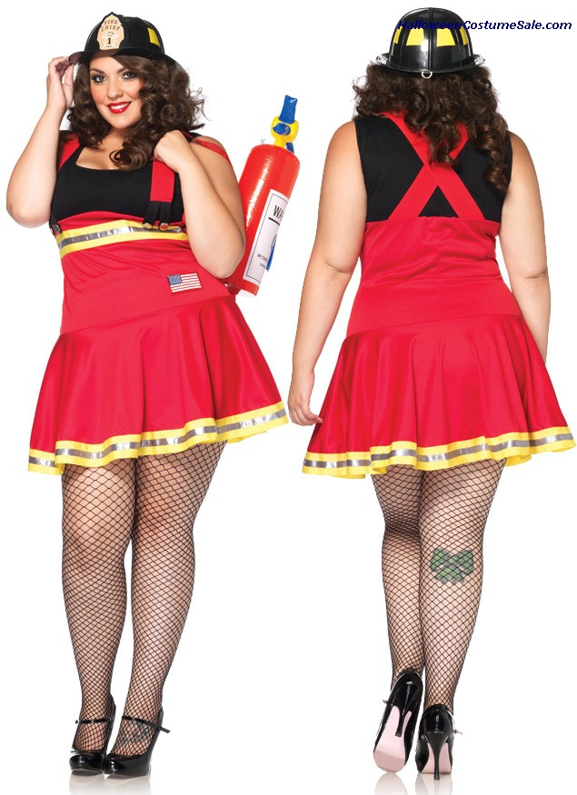 THREE ALARM HOTTIE PLUS SIZE COSTUME