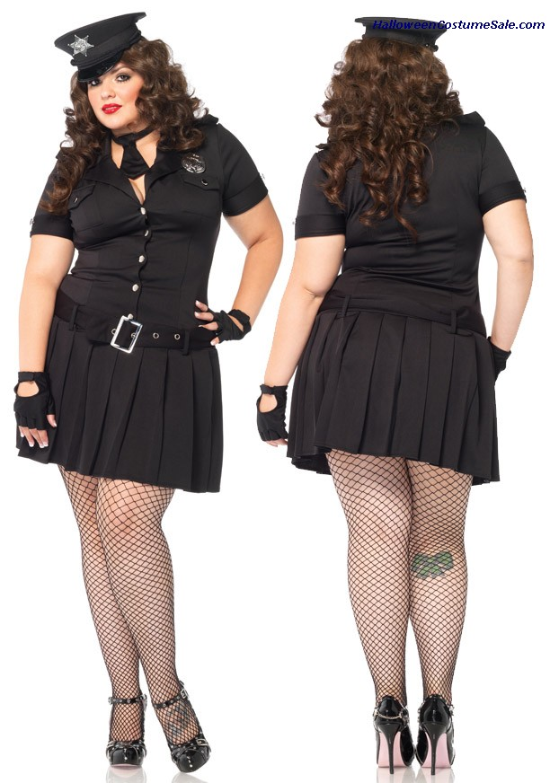 ARRESTING OFFICER PLUS SIZE COSTUME