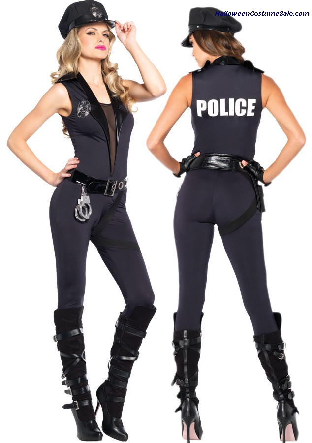 BACK UP OFFICER ADULT COSTUME