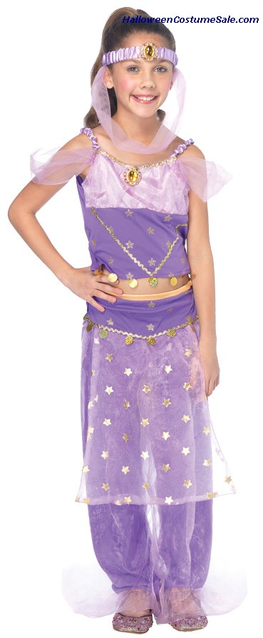 MAGIC GENIE CHILD COSTUME