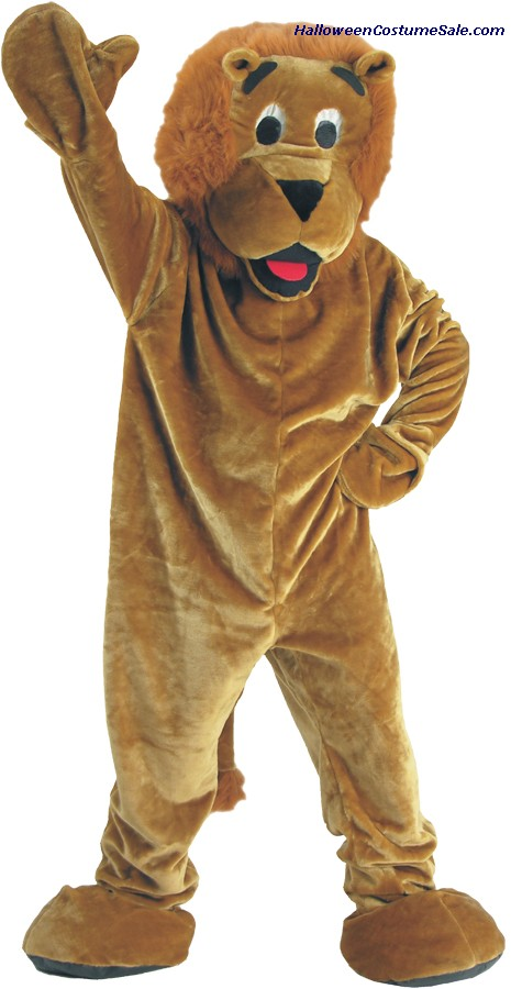 ROARING LION MASCOT CHILD COSTUME
