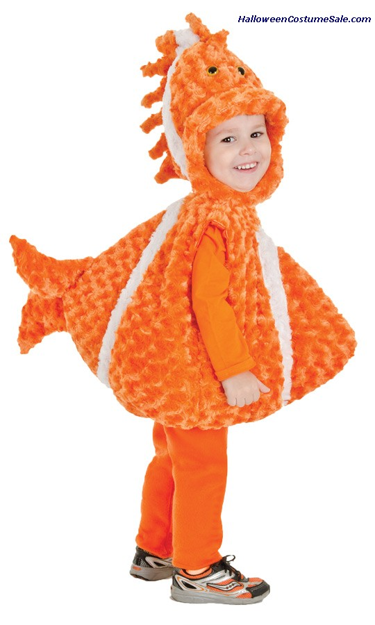 BIG MOUTH CLOWN FISH TODDLER COSTUME