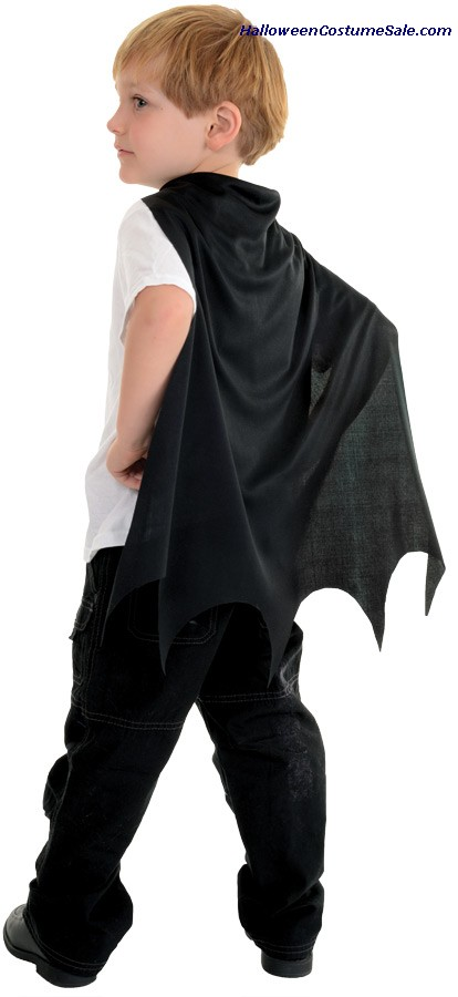 BLACK BAT TODDLER CAPE
