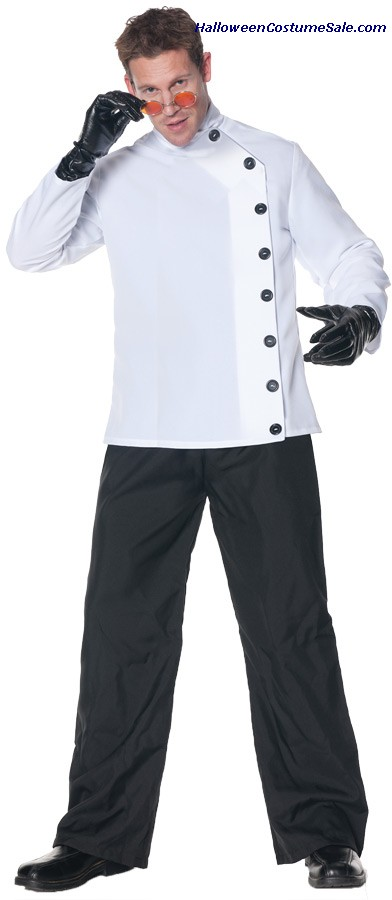 MAD SCIENTIST SHIRT ADULT COSTUME
