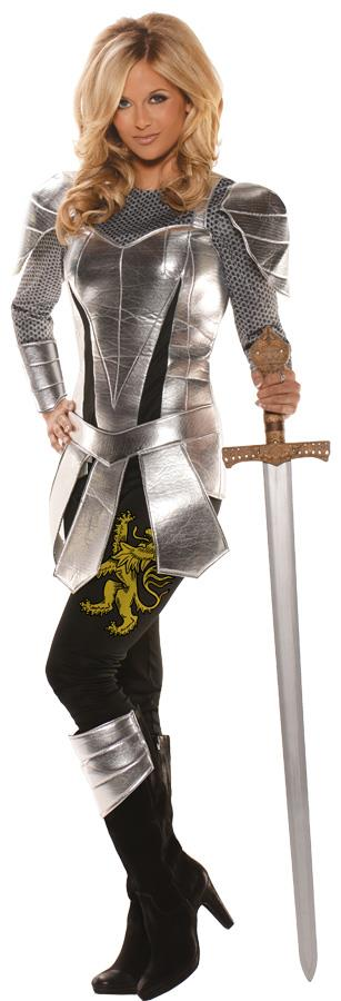 KNIGHT TO REMEMBER FEMALE ADULT COSTUME