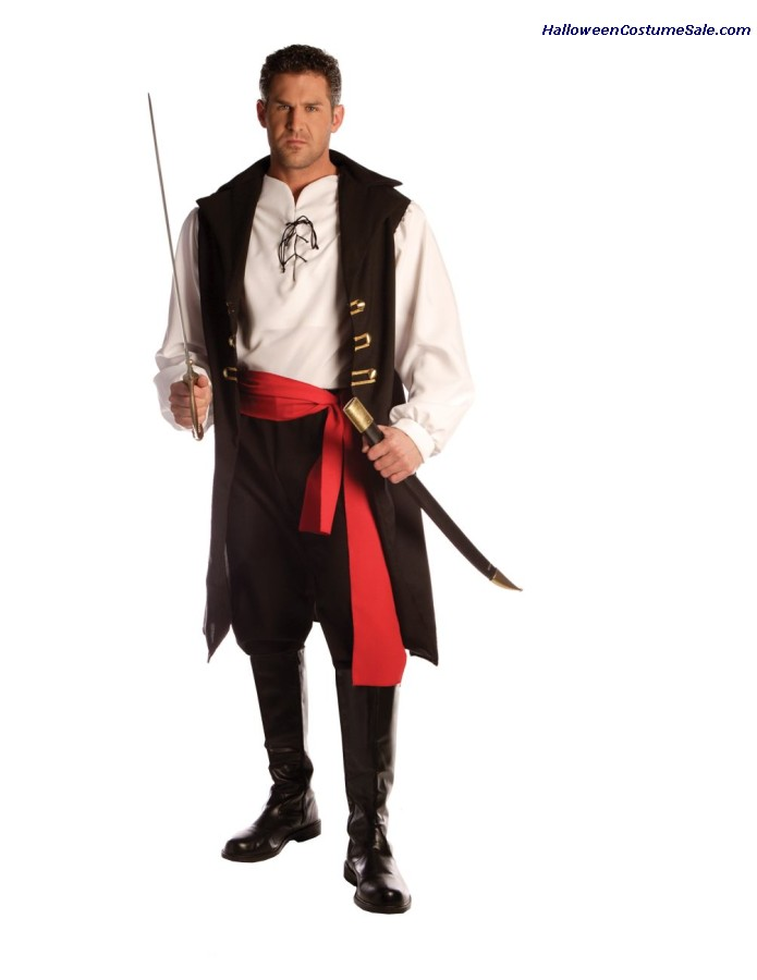 Adult Captain Cutthroat Mens Costume