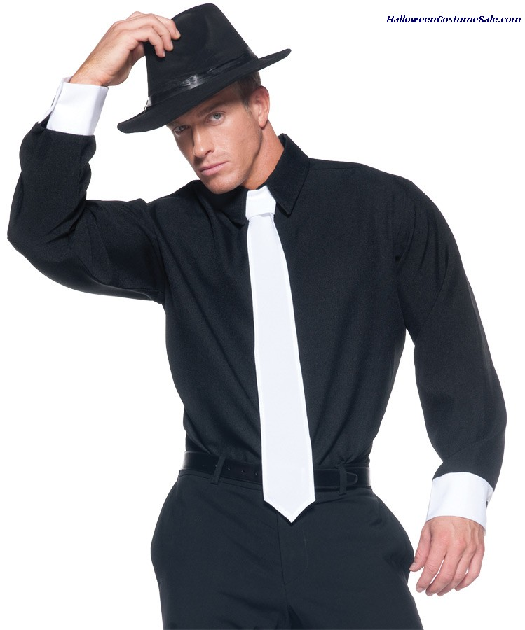 GANGSTER SHIRT ADULT COSTUME