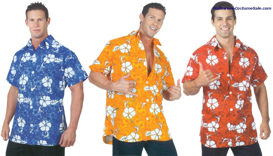 HAWAIIAN SHIRT ADULT COSTUME