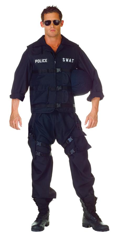 SWAT PLUS SIZE ADULT COSTUME