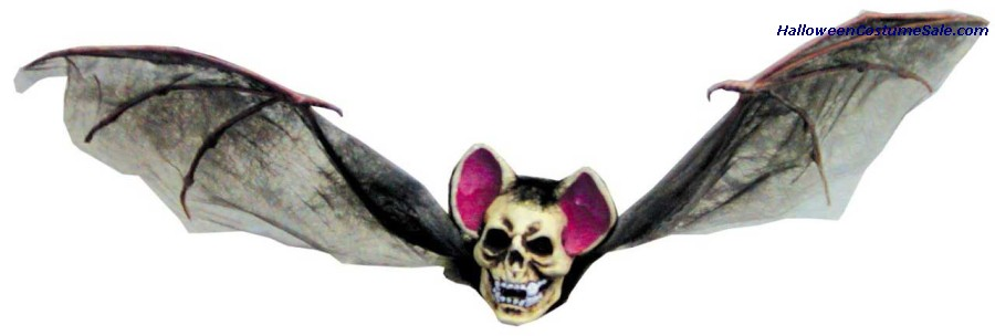 BAT WITH SKULL HEAD