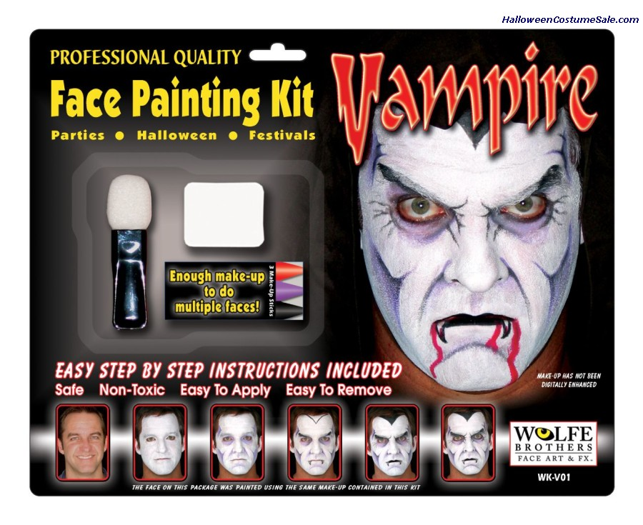 Male Vampire Makeup Kit