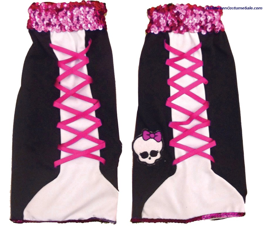 MONSTER HIGH GHOULICOUS CHILD LEG WARMER