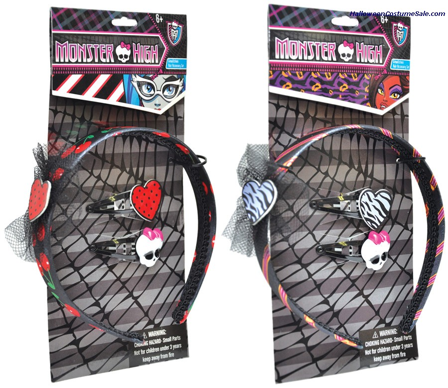MONSTER HIGH HAIR ACCESSORY SET