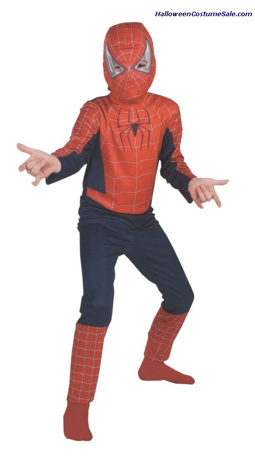 SPIDERMAN MOVIE CHILD COSTUME