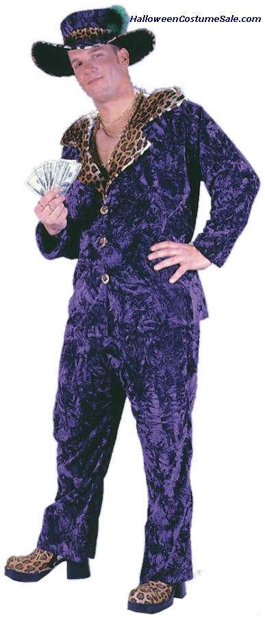 BIG DADDY VELVET ADULT COSTUME