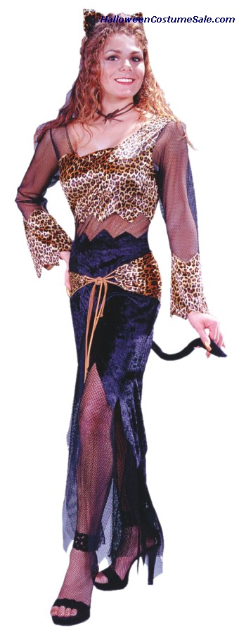 JUNGLE CAT JANE ADULT COSTUME