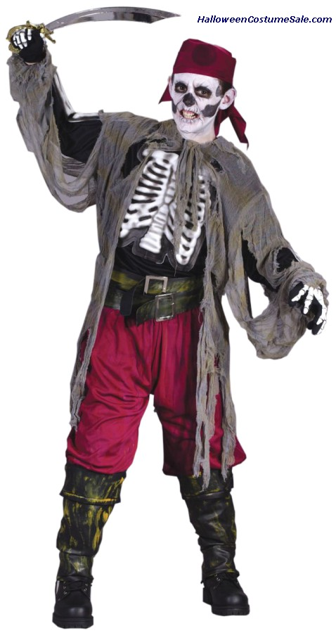 BUCCANEER BONES CHILD COSTUME