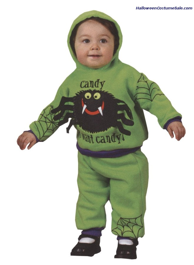 HOODED SPIDER COSTUME