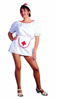 SEXY NURSE ADULT COSTUME