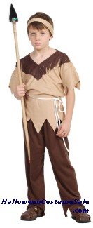 INDIAN BRAVE WARRIOR CHILD COSTUME