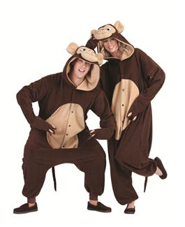 MORGAN THE MONKEY FUNSIE ADULT COSTUME