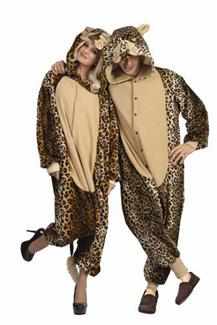 LUX THE LEOPARD FUNSIES ADULT COSTUME