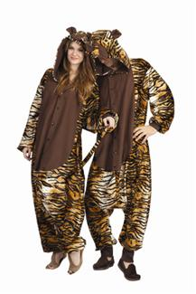 TAYLOR THE TIGER FUNSIES ADULT COSTUME