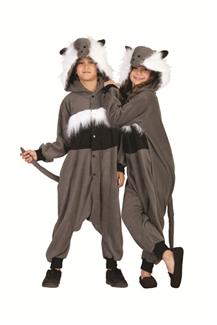 HAMSTER GRAY FUNSIE CHILD COSTUME