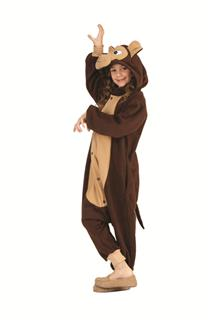 MORGAN THE MONKEY FUNSIE CHILD COSTUME