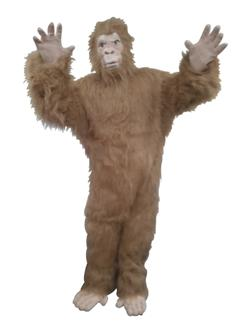 BLACK /WHITE GORILLA ADULT COSTUME