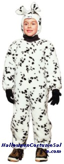 DALMATIAN PLUSH TODDLER COSTUME