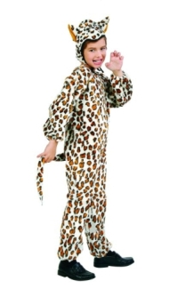 LEOPARD PLUSH TODDLER COSTUME