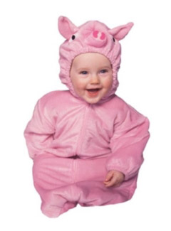 PINK PIGGIE CHILD COSTUME