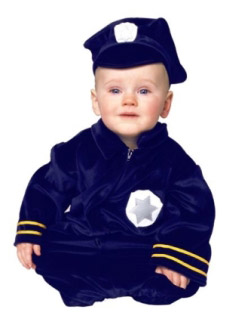 LILS POLICE CHILD COSTUME