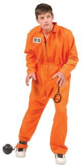 CONVICT TEEN COSTUME