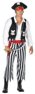 PIRATE MAN ADULT COSTUME