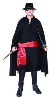 DELUXE MASKED BANDIT ADULT COSTUME