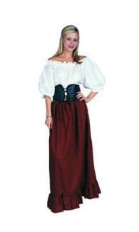 FEMALE RENAISSANCE PEASANT COSTUME
