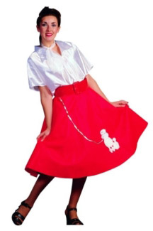 POODLE ADULT SKIRT