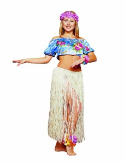 HULA DANCER ADULT COSTUME
