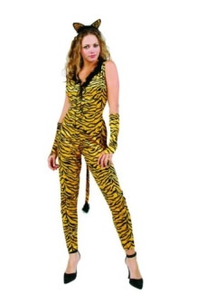 TIGERESS ADULT COSTUME