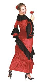SENORITA ADULT COSTUME