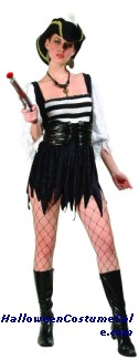SEXY PIRATE ADULT PLUS SIZE COSTUME