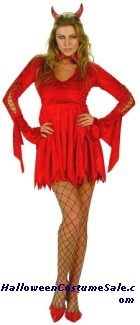 SEXY SHE DEVIL ADULT PLUS SIZE COSTUME