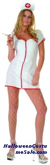 HOT AID ADULT PLUS SIZE COSTUME