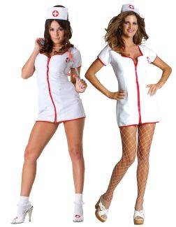 HOT AID ADULT COSTUME