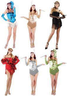 FRINGETIME ADULT COSTUME