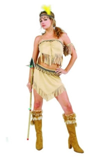 PRINCESS NAVAJO ADULT PLUS SIZE COSTUME