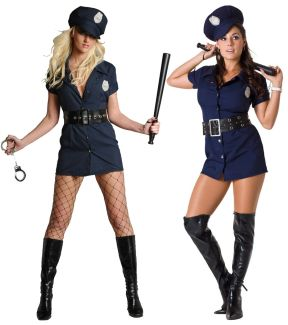 IN THE LINE OF DUTY COSTUME (PLUS SIZE)